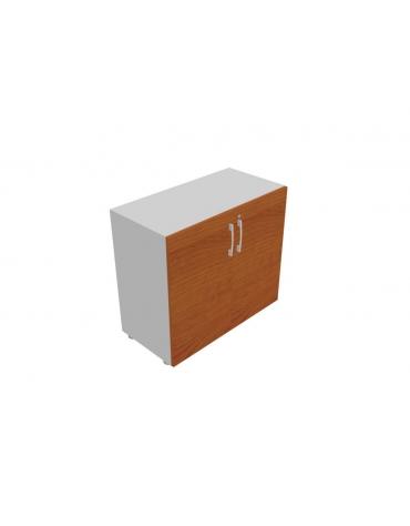 Contenitire basso anta in legno con serratura - cm 90x45x80h