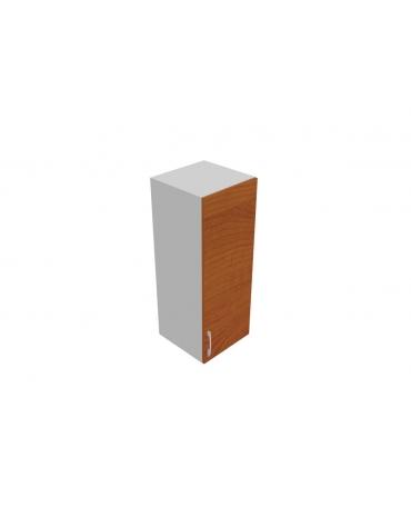 Contenitore medio con anta in legno con serratura sovrapposta - cm 45x45x119h