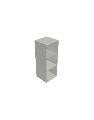 Contenitore medio con anta in vetro con serratura sovrapposta - cm 45x45x119h