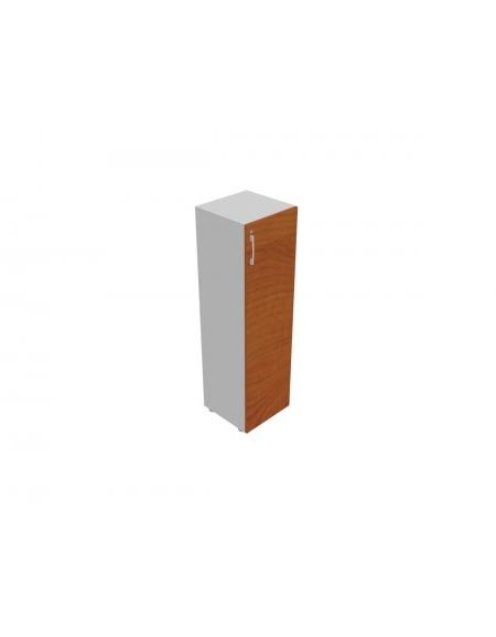 Contenitore medio anta in legno con serratura - cm 45x45x157h