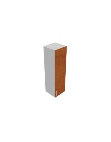Contenitore medio alto anta in legno con serratura sovrapposta - cm 45x45x157h