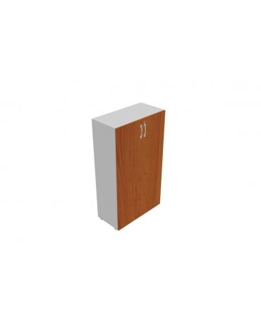 Contenitore medio alto anta in legno con serratura - cm 45x45x157h