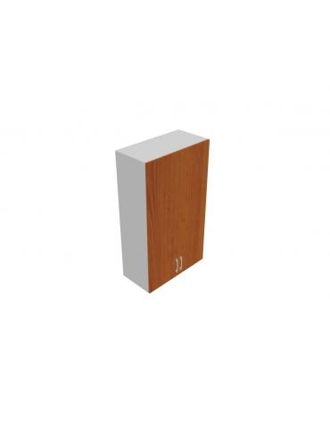 Contenitore medio alto anta in legno con serratura sovrapposta - cm 90x45x157h
