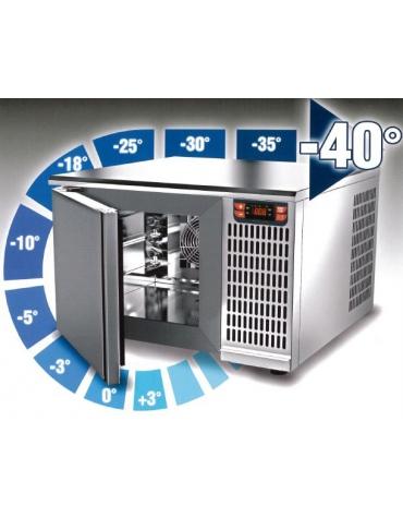 Abbattitore temperatura 5 Teglie GN 1/1 o 60X40 -Potenza W 1.424