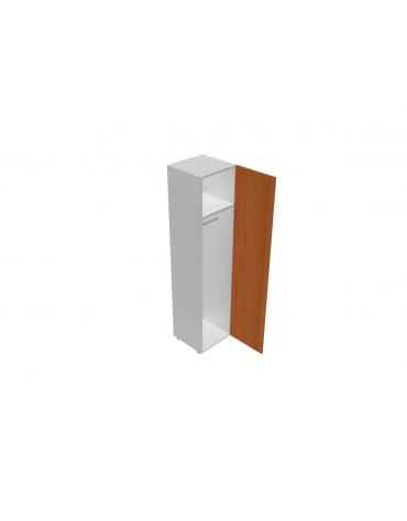 Contenitore alto porta abiti con anta in legno - cm 45x45x196h