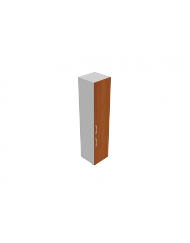 Contenitore alto con anta in legno/legno - cm 45x45x196h