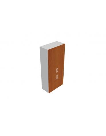 Contenitore alto con anta legno / legno - cm 90x45x196h