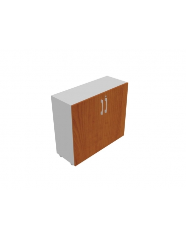 Contenitore basso anta legno con serratura - cm 90x33x80h