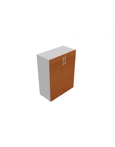 Contenitore medio - anta legno con serratura - cm 90x35x119h