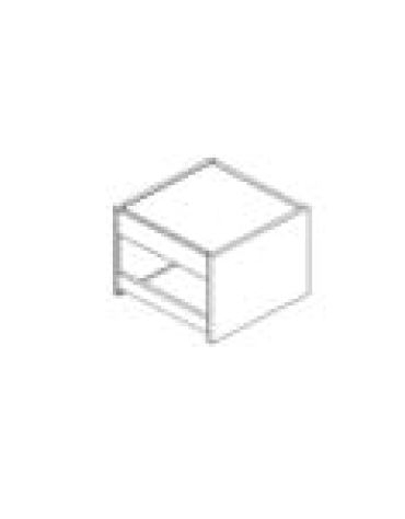 ELEMENTO PORTA POSATE / TOVAGLIE / VASSOI PER SELF SERVICE - CM 75X80X125H