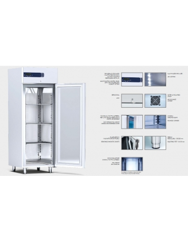 Armadio frigorifero per pasta fresca 1 porta Lt. 700