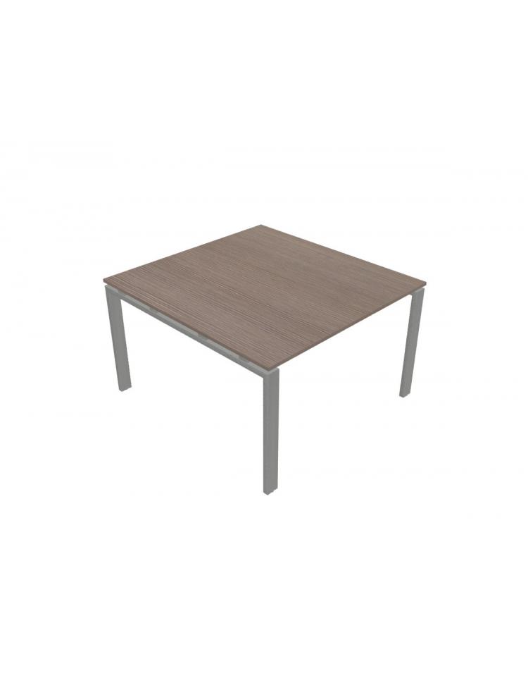 Tavolo riunione quadrato gamba a u cm 120x126x72h for Tavolo quadrato grande