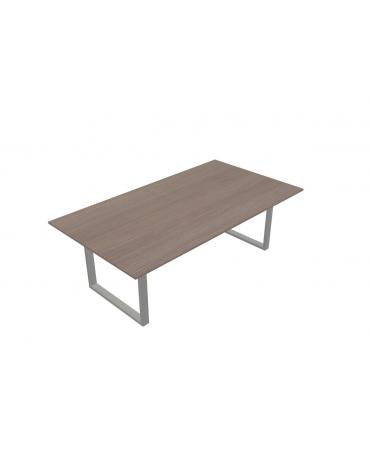 Tavolo riunione - gamba chiusa - cm 220x120x72h