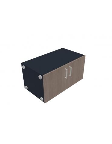 Contenitore con ante per mobile centrostanza - cm 80x46x40h