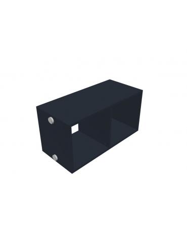 Contenitore a giorno per mobile a muro - cm 80x32x40h