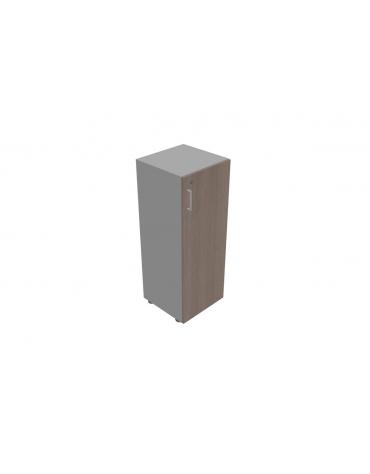 Mobile contenitore medio - anta in legno con serratura cm 45x45x119h