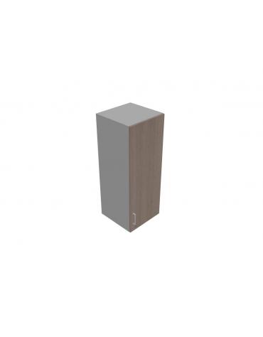 Mobile contenitore medio - anta in legno con serratura sovrapponibile cm 45x45x119h
