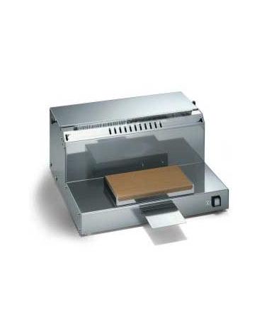 Confezionatrice manuale con taglio a filo caldo con rotolo film da cm 50