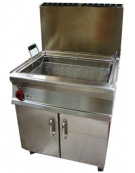 Friggitrice a gas per pasticceria Litri 45 - cm 80x70x90h