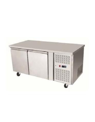 Tavolo refrigerato positivo 2 Porte cm. 136x60x85h