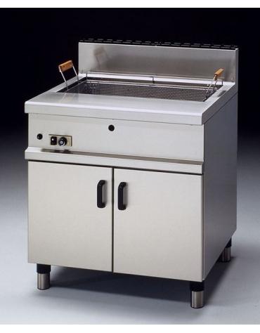 Friggitrice pasticceria a gas su mobile Litri 30 - cm 60x70x85h