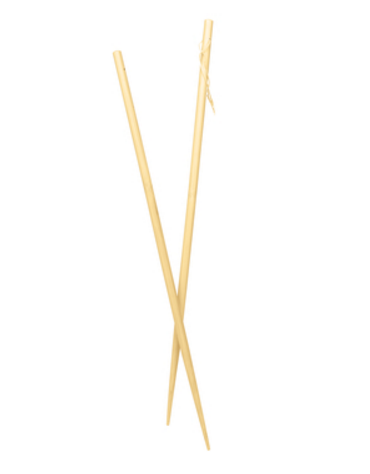 Bacchette in bamboo cucina cinese, 1 paio - cm 45