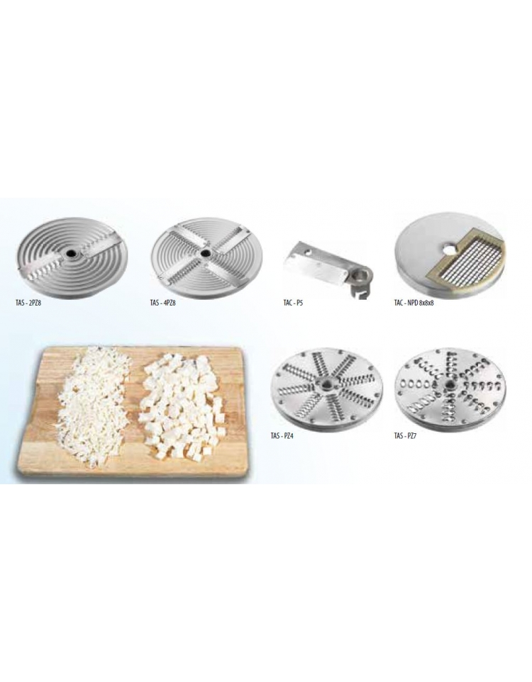 Tagliamozzarella per sfilacciare macchine for Arredamento pizzeria al taglio usato