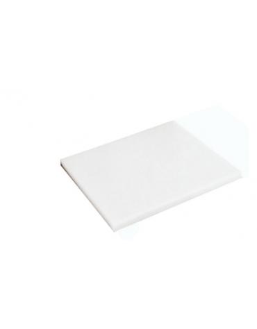 Tagliere in polietilene -  GN 1/2 colore bianco -  cm 32x26,5x2h