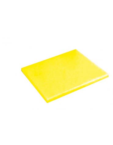 Tagliere in polietilene -  GN 1/2 colore giallo -  cm 32x26,5x2h