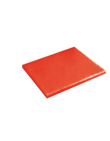 Tagliere in polietilene -  GN 1/2 colore rosso -  cm 32x26,5x2h