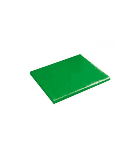 Tagliere in polietilene -  GN 1/2 colore verde -  cm 32x26,5x2h