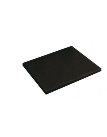 Tagliere in polietilene -  GN 1/2 colore nero -  cm 32x26,5x2h