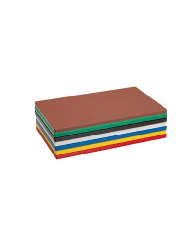 Tagliere in polietilene HD -  GN 1/1 colore marrone -  cm 53x32,5x2h