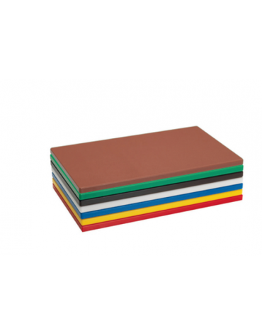 Tagliere in polietilene HD -  GN 1/1 colore nero -  cm 53x32,5x2h