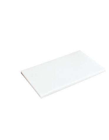 Tagliere HD in polietilene -  colore bianco -  cm 40x30x2h