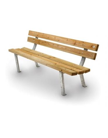 Panchina Bosco in legno di pino nordico