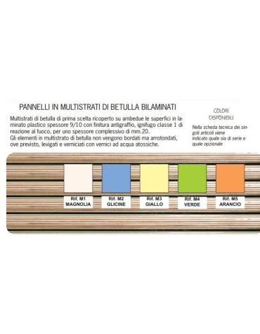 TAVOLINO ESAGONALE L.65X52H
