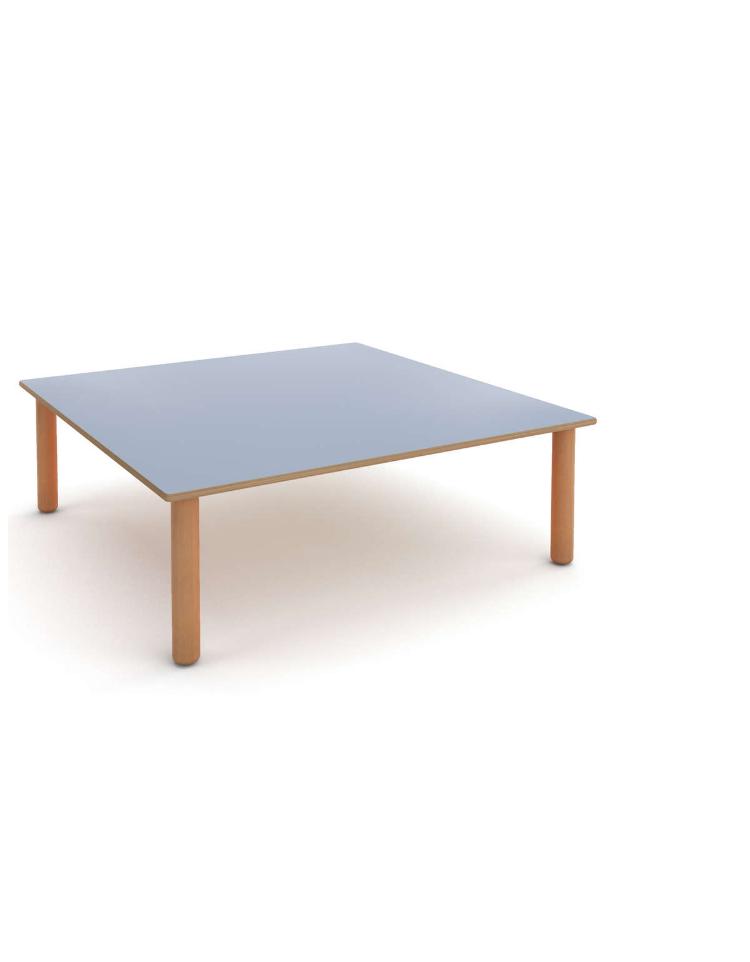Tavolo quadrato nido cm 100x100x43h for Tavolo quadrato grande