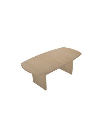 Tavolo riunione ovale - cm 200x100x75h