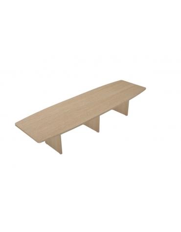 Tavolo riunione - cm 360x110x75h