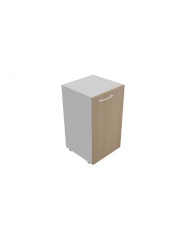 Mobile basso da cm 45 anta legno senza serratura - cm 45x45x80h