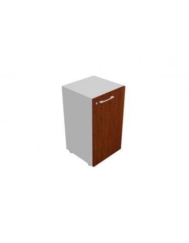 Mobile basso da cm 45 anta legno con serratura - cm 45x45x80h