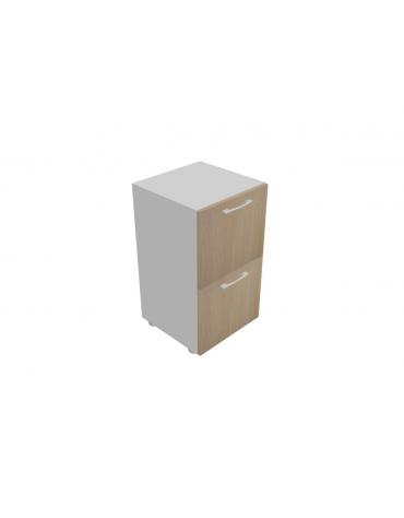 Mobile basso da cm 45 con 2 cassetti classificatori cm 45x45x80h