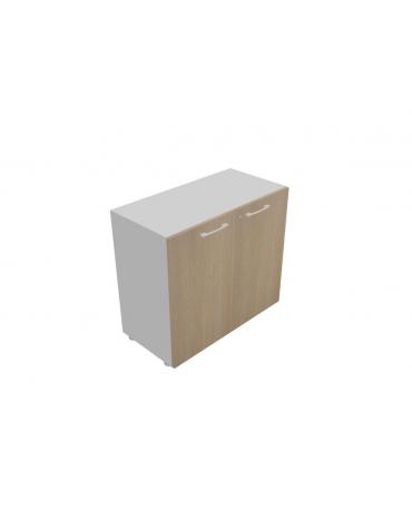 Mobile basso da cm 90 con ante legno - cm 45x45x80h