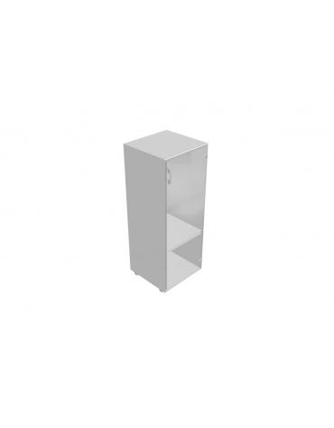 Mobile medio da cm 45 anta vetro senza serratura - cm 45x45x119