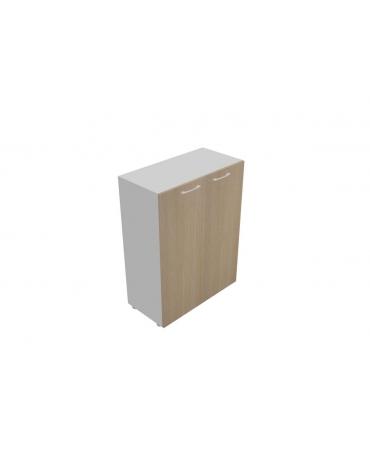 Mobile medio da cm 90 con ante legno con serratura - cm 90x45x119h