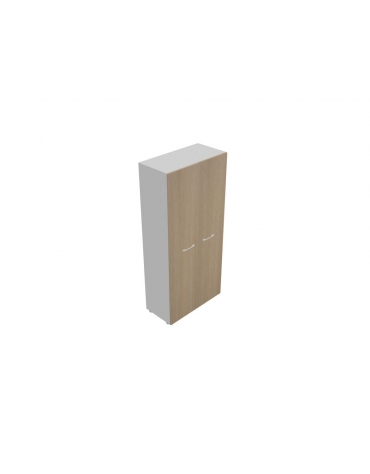 Mobile alto da cm 90 ante legno con serrratura - cm 90x45x196h