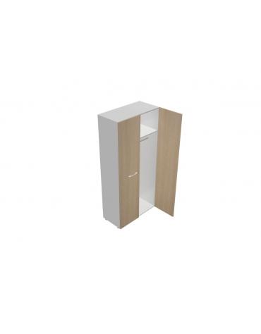 Mobile alto porta abiti da cm 90 anta legno - cm 90x45x196h