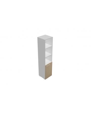 Mobile alto da cm 45 anta legno - giorno - cm 45x45x196h