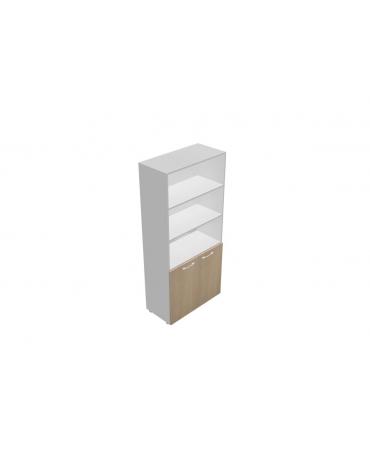 Mobile alto da cm 90 ante legno - giorno - cm 90x45x196h
